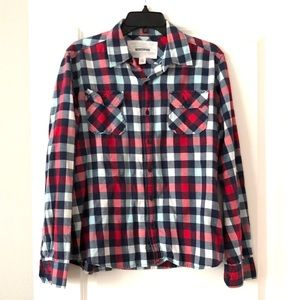 Other - Preowned Men's Plaid button down shirt